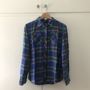 BDG Relaxed Fit Lightweight Flannel